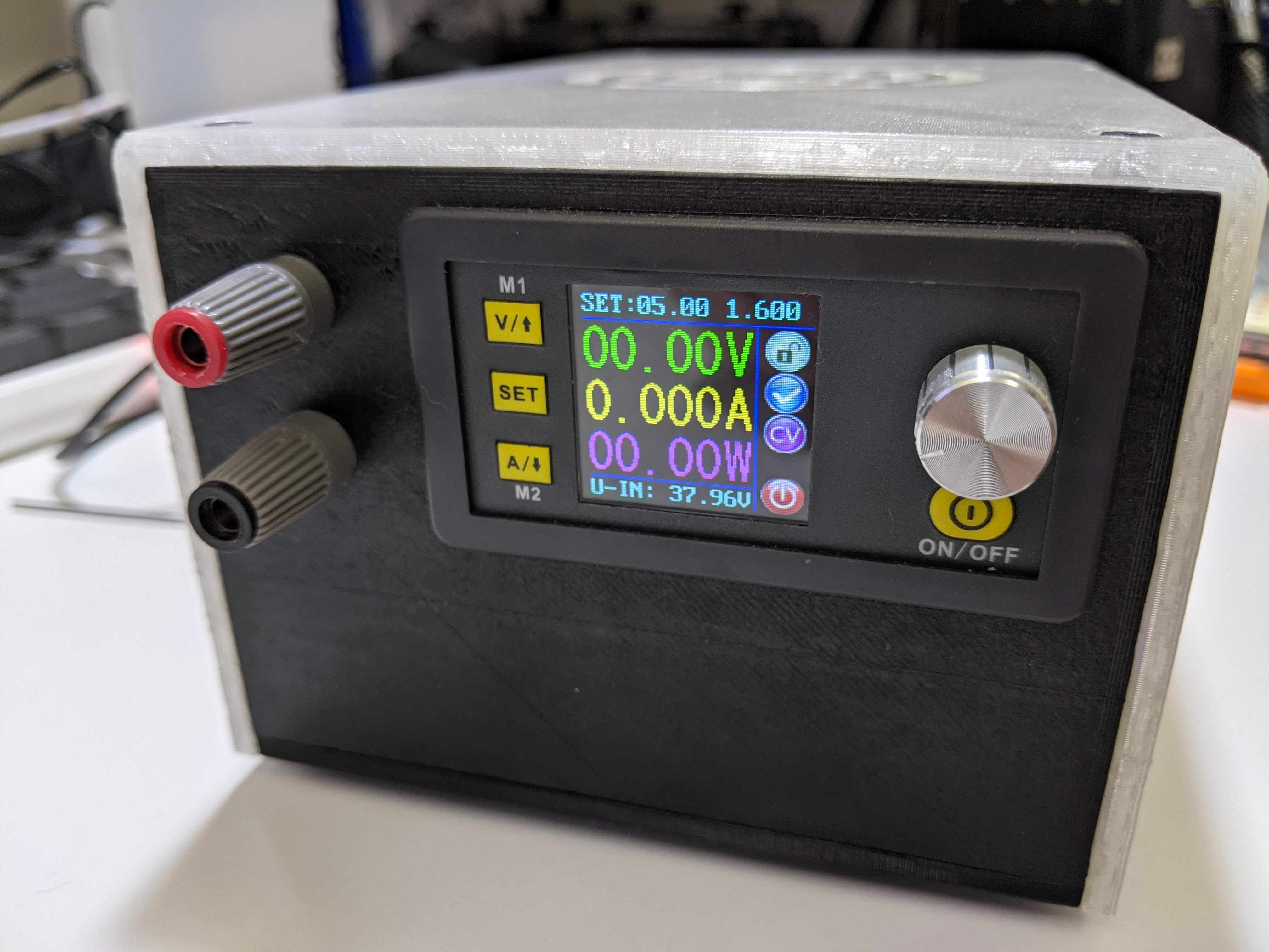 Bench Power Supply Power On
