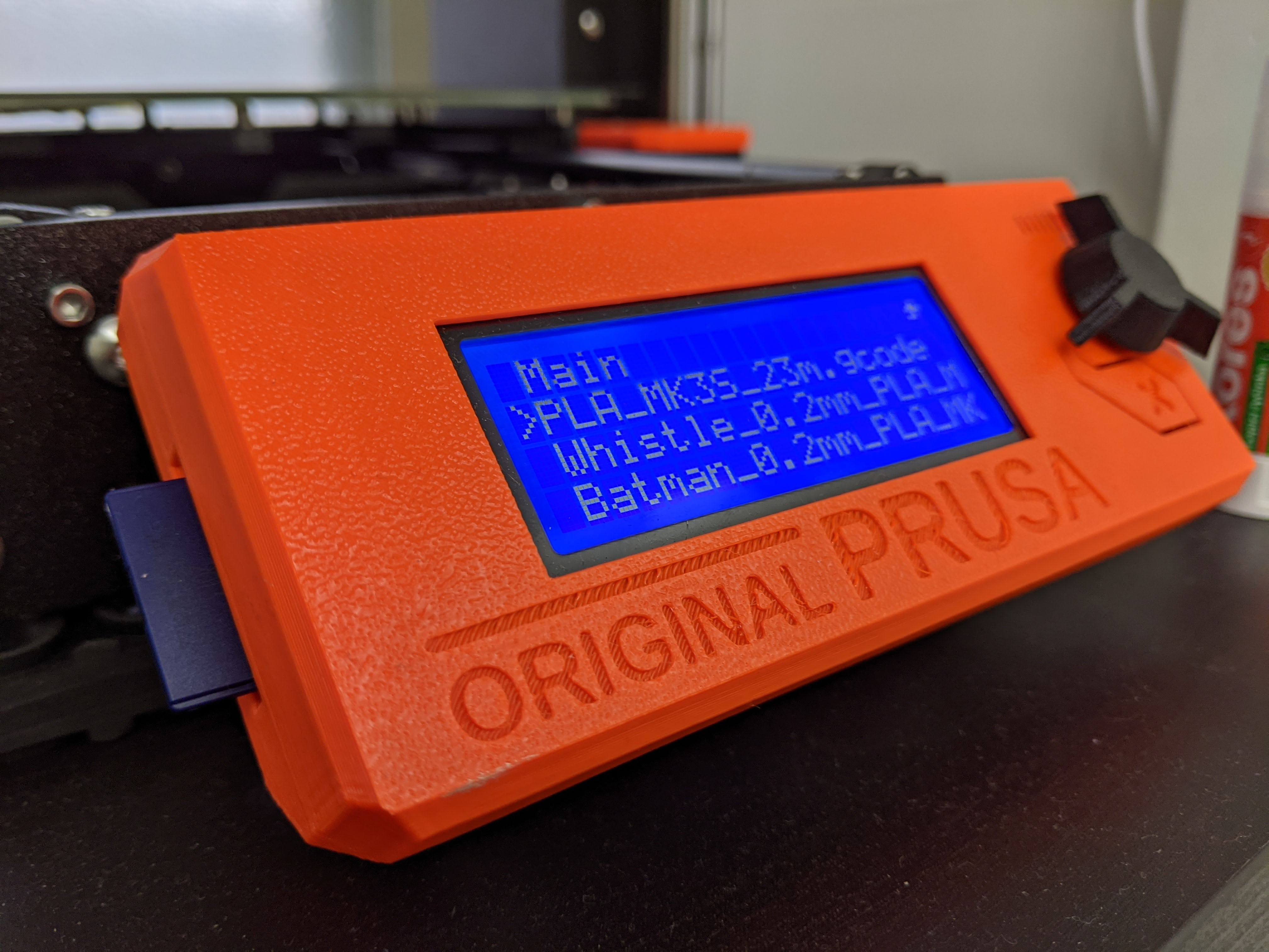 Prusa i3 SD card